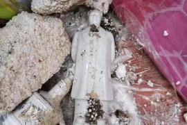 红友震怒!甘肃灵台县毛主席纪念馆竟然被砸被毁坏,为什么?